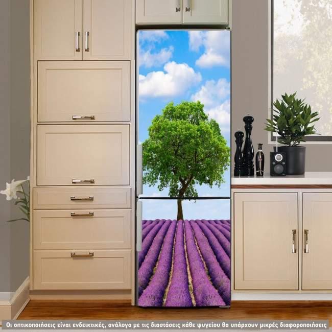 Horizon, αυτοκόλλητο ψυγείου