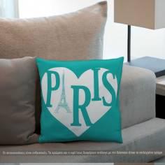 Paris, διακοσμητικό μαξιλάρι