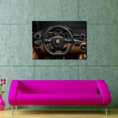 Ferrari, πίνακας σε καμβά