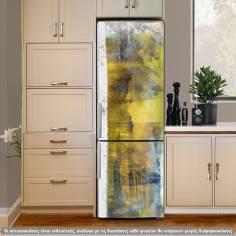 Abstract meadow, αυτοκόλλητο ψυγείου