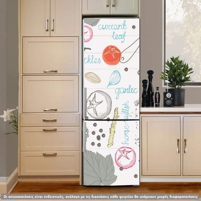 Cookbook, αυτοκόλλητο ψυγείου