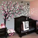 Elegant cherry blossom tree, αυτοκόλλητο τοίχου