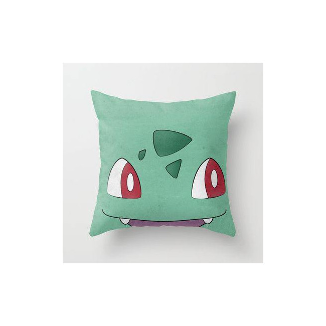 Pokemon 1 ,βαμβακερό διακοσμητικό μαξιλάρι, με το όνομα που θέλετε!