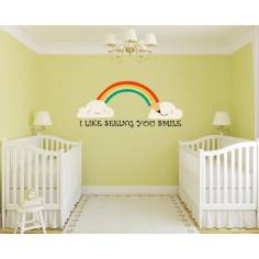 Seeing you Smile, αυτοκόλλητα τοίχου