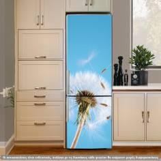 Πικραλίδα στον άνεμο, αυτοκόλλητο ψυγείου