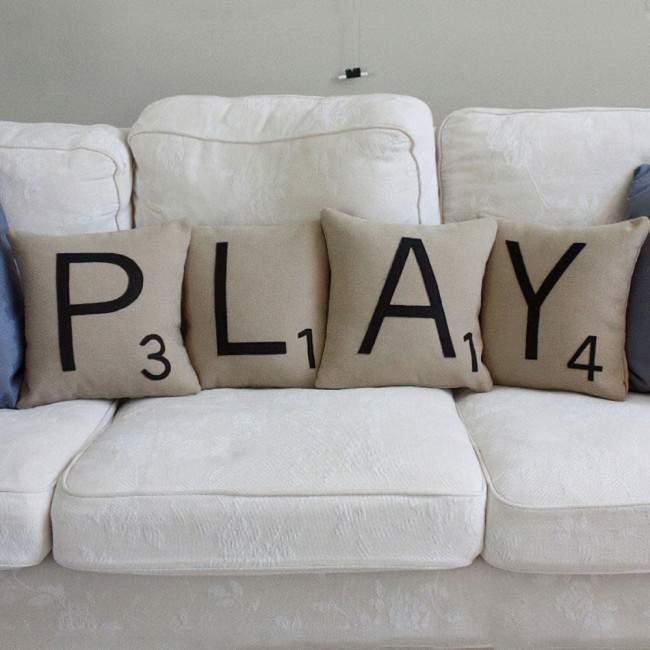 Play, σετ 4 διακοσμητικά μαξιλάρια