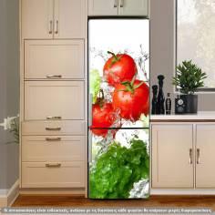 Fresh, αυτοκόλλητο ψυγείου