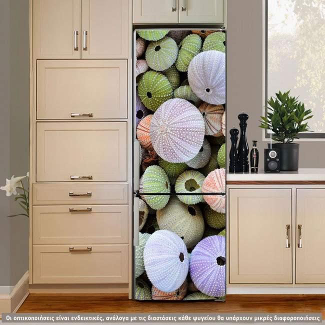 Summer Colors, αυτοκόλλητο ψυγείου