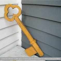 Ξύλινο κλειδί διακοσμητικό