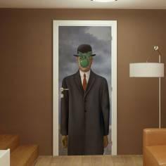 Son of a man, Rene Magrittei,αυτοκόλλητο πόρτας