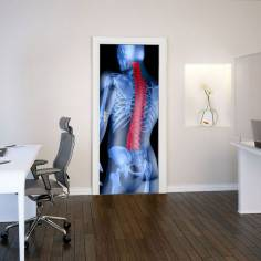 Spine, αυτοκόλλητο πόρτας