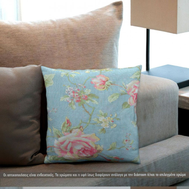 Vintage roses, διακοσμητικό μαξιλάρι