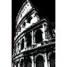 Ρωμη Κολοσσαίο Αυτοκόλλητο τοίχου, κοντινό