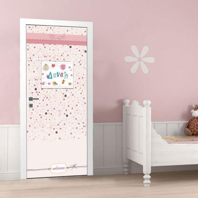 Big girl's room, αυτοκόλλητο πόρτας παιδικό
