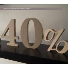 Ξύλινα ποσοστά εκπτώσεων ,αυτοστηριζόμενα (Freestanding)