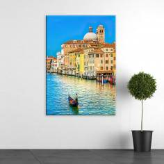 Venice , κάθετος πίνακας σε καμβά