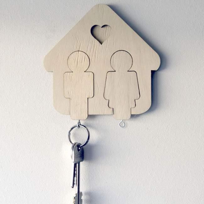 Εμείς, κλειδοθήκη