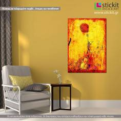 Ηλιοτρόπιο, πίνακας σε καμβά