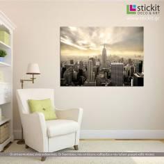 The Empire State building, πίνακας σε καμβά