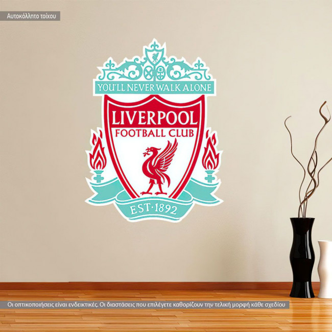 Liverpool FC, αυτοκόλλητο τοίχου