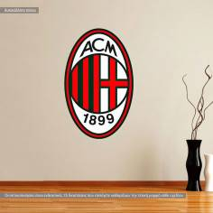 Milan AC, αυτοκόλλητο τοίχου