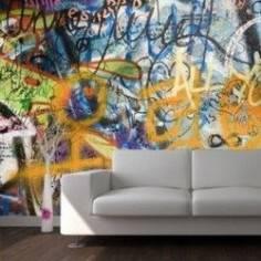 Lennons wall, φωτογραφική ταπετσαρία