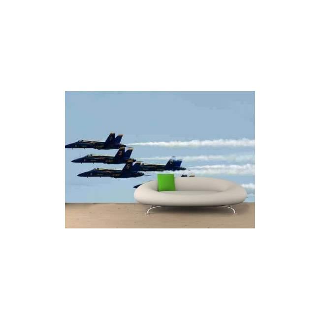 Αεροπλάνα σε σχηματισμό, φωτογραφική ταπετσαρία