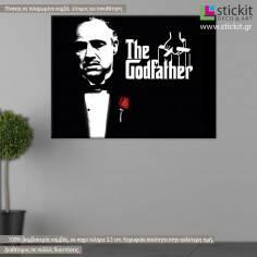 The god father, πίνακας σε καμβά