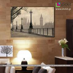 Big Ben & Parliament, πίνακας σε καμβά