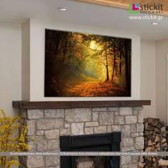 Forest memories, πίνακας σε καμβά