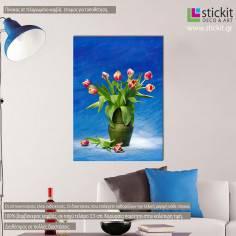 Καλοκαιρινά Λουλούδια ΙΙ, πίνακας σε καμβά