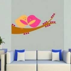 Ερωτευμένα πουλιά, αυτοκόλλητο τοίχου