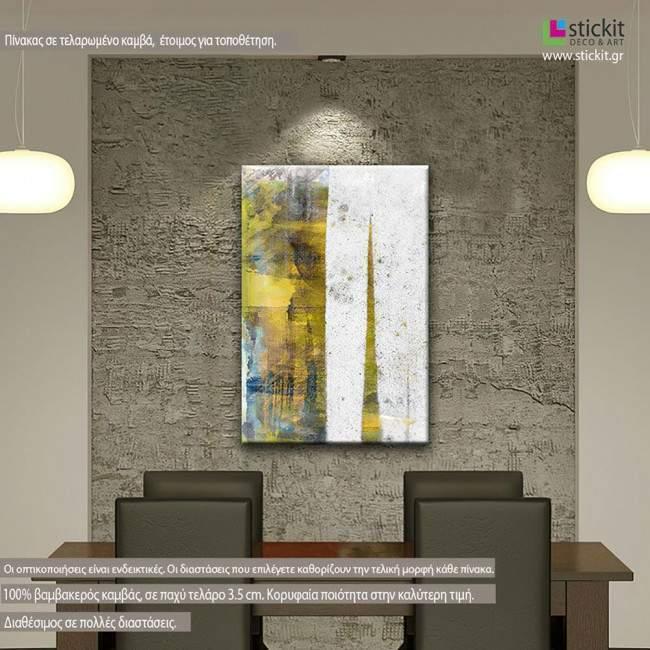 Abstract mixed media, πίνακας σε καμβά