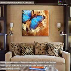 Butterfly artistic, πίνακας σε καμβά