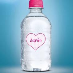Καρδιά, αυτοκόλλητες ετικέτες σε σχήμα καρδιάς ,για βαζάκια,μπομπονιέρες,μπουκάλια με το όνομα που θέλετε
