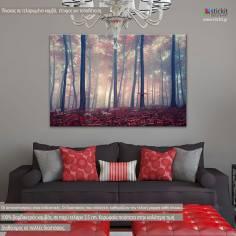 Πίνακας σε καμβά, Δάσος, Mystic forest