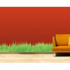 Χόρτα & γρασίδι Αυτοκόλλητο τοίχου