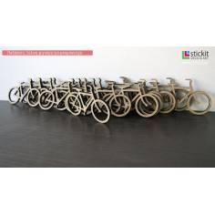 Ποδήλατο, ξύλινη φιγούρα για μπομπονιέρα