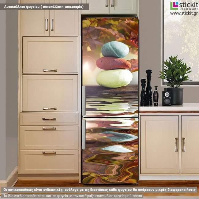 Zen Ballance, αυτοκόλλητο - ταπετσαρία ψυγείου