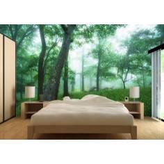 Τοπίο στο δάσος, ταπετσαρία τοίχου φωτογραφική