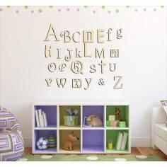 Αλφάβητο αγγλικό, ξύλινα γράμματα