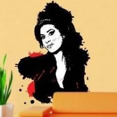 Αυτοκόλλητο τοίχου, Amy Winehouse 1