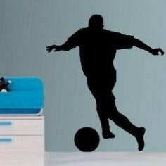 Ποδοσφαιριστής, αυτοκόλλητο τοίχου