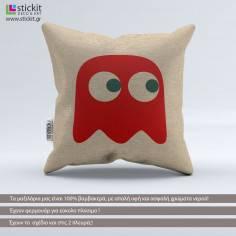 Pac-Man Blinky Ghost, διακοσμητικό μαξιλάρι