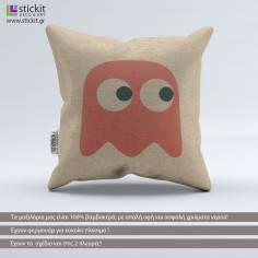 Pac-Man Pinky Ghost, διακοσμητικό μαξιλάρι