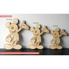 Μίκυ (mickey), ξύλινη φιγούρα διακοσμητική