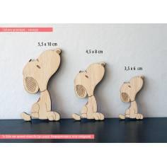 Snoopy( Σνούπυ), ξύλινη φιγούρα διακοσμητική