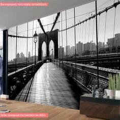 Inside Brooklyn Bridge, φωτογραφική ταπετσαρία αυτοκόλλητη