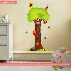 Αυτοκόλλητα τοίχου παιδικά, Δεντρόσπιτο