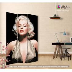 Marilyn, πτυσσόμενο διαχωριστικό (παραβάν)
